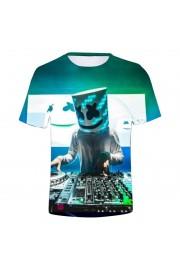 Marshmello Youth T-Shirt Unisex Short Sleeve Clothes 1