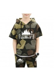 Kids Fortnite Camouflage T-shirt and shorts 2-Piece