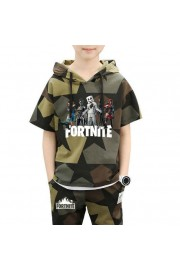 Kids Fortnite Marshmello Camouflage T-shirt and shorts 2-Piece