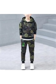 NEW Kids Minecraft Cotton Camouflage Hoodie and sweatpants