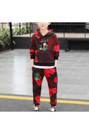 Kids Minecraft Cotton Camouflage Hoodie and sweatpants 2-Piece