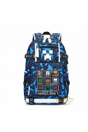 NEW Minecraft Backpack Camouflage Waterproof Bookbag Large Capacity(8 color)
