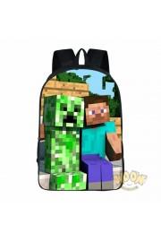 Minecraft School Backpack Tourist BookBags Hot 1