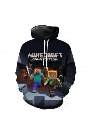 Minecraft Hoodie 3D Print Sweatshirt Fashion Clothing 2