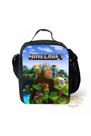 Minecraft Lunch Box Waterproof Insulated Lunch Bag Portable Lunchbox