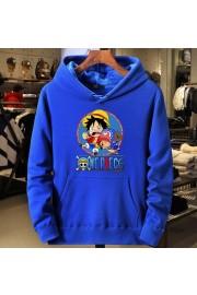 One Piece Anime Hoodies Cotton Fleece Sweatshirts Kids/Adult 3