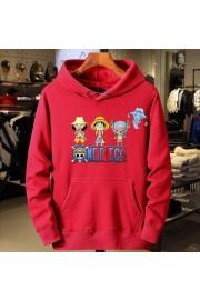 One Piece Anime Hoodies Cotton Fleece Sweatshirts Kids/Adult 1