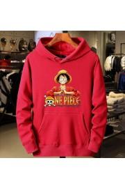 One Piece Anime Hoodies Cotton Fleece Sweatshirts Kids/Adult