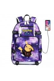 Pokemon backpack Pikachu bookbag large capacity NEW 2