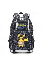 Pokemon backpack Pikachu bookbag large capacity