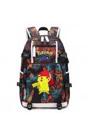 Pokemon backpack Pikachu bookbag large capacity school bag(10 color)