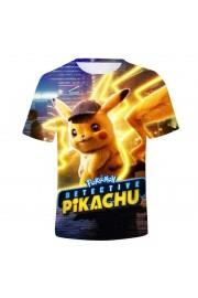 Pokemon Pikachu Youth T-Shirt Unisex Short Sleeve Clothes 1