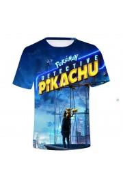 Pokemon Pikachu Youth T-Shirt Unisex Short Sleeve Clothes