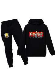 The Simpsons Kids Hoodies Cotton Sweatshirts Outfits 1