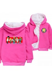 The Simpsons Hoodies Zip Up Fleece Jackets Winter Coats 1
