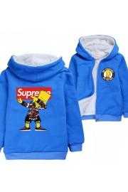 The Simpsons Hoodies Zip Up Fleece Jackets Winter Coats