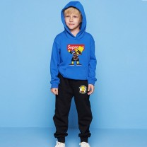 The Simpsons Kids Hoodies Cotton Sweatshirts Outfits