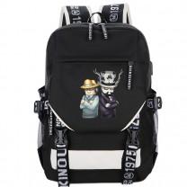 Roblox backpack USB charging port bookbag(5 color)