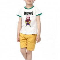 Fortnite T-Shirt Kids Cotton Shirt Funny Youth Tee 34