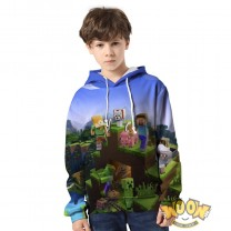 Minecraft Hoodie 3D Print Sweatshirt Fashion Clothing 1