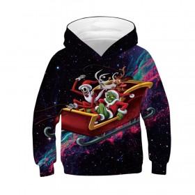 woow Christmas 3D Print Hoodie Sweatshirt 1